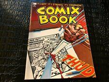 OCT 1974   #1 COMIX BOOK MAGAZINE ( UNREAD ) underground