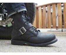 Harley Davidson Men Ranger Black Biker Boots Style  D95264 Size10 M (NIB)