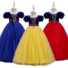 Halloween Cosplay Kids Girl Dress Wedding Birthday Dress Pageant Fancy Dresses