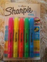 Sharpie Gel Highlighter 5 In A Set