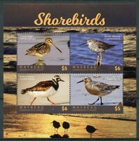 Mayreau Grenadines St Vincent 2018 MNH Shorebirds Waders 4v M/S Birds Stamps