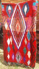 Vintage Moroccan tribal rug 167 x 103 cm