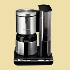Bosch Thermo-Kaffeemaschine TKA 8653 Styline - mit Timer - schwarz/Edelstahl