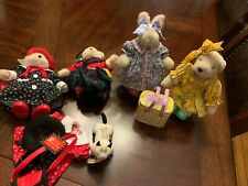Muffy VanderBear/Hoppy VanderHare Lot, North American Bear Company, Used