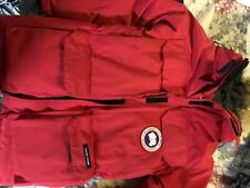 Canada Goose Men's Expedition Parka XS Red AUTHENTIC