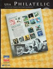 Usa Philatelic Stamp Publication Summer 1999 Vol. 4 No. 2 Used 1950s