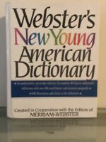 Webster's New Young American Dictionary by Inc. Staff Merriam-Webster (1995,...