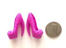 Monster High Fierce Rockers - Clawdeen Wolf Doll Pink Pumps SHOES Only TRU
