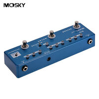 Moskyaudio RD5 Multi-Effects Combined Effect Pedal 5 Effects In 1 Unit