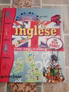 Il libro inglese con Dick Rabbit Giunti Junior