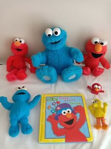 Sesame Street Stuffed Plush Toys