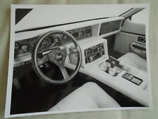 TVR interior photo press photo c1986