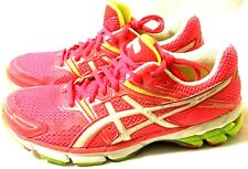 Excellent Women's Asics GT 1000 Size 7.5 Neon Pink Athletic Running Shoes