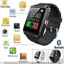 Nuevo Bluetooth Reloj inteligente Pulsera teléfono Mate para Android IOS iPhone HTC Samsung