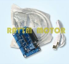5 Axis CNC MACH3 Interface Board With Optocoupler Adapter Stepper Motor Driver