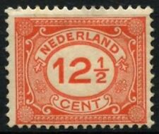 Netherlands 1921 SG#243, 12.5c Red Numerals Definitives MH #D71351