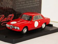 ALFA ROMEO 2600 SPRINT OLD CAR RACES RED BANG 7236 1/43