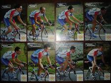 cyclisme COFIDIS 2002 complet 30 cartes