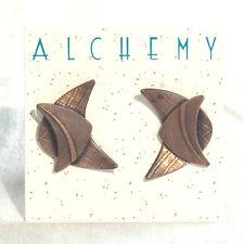 OOP NWT Mixed Metal Earrings  by Pam Meyer [Alchemy] ~ Vintage 1996 ~ SALE!