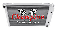 3 Row Ace Champion Radiator for 1982 - 1987 Buick Regal Grand National V6 Engine