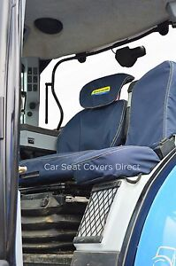 New Holland Tractor Genuine Fitting Seat Covers, T6000, T7000, T6, T7, TSA, CNH