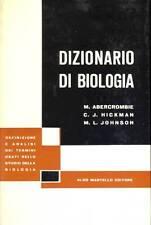 ABERCROMBIE M., HICKMAN C. J., JOHNSON M. L., Dizionario di biologia