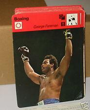 George Foreman BOXING CARD DA COLLEZIONE