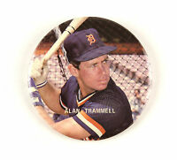 "1977-96 Alan Trammell Detroit Tigers 3"" Pinback Button"