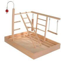 5655 Trixie Small Wooden Parakeet, Budgie Bird Playground Ladder & Perch Stand
