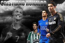 Cristiano Ronaldo CR7 Football King Poster Fabric 60x90cm Print Art Wall Decor49