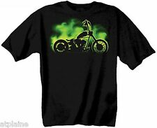 T-Shirt MC GLOW BOBBER - Taille M - Style BIKER HARLEY
