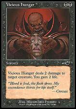 Vicious Hunger X4 EX/NM Nemesis MTG Magic Card Black Burn Life Gain EDH Legacy