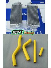 aluminum radiator & hose For suzuki RM125 RM 125 2001-2008 2002 2003 2004