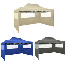Professional Folding Party Tent with 3 Sidewalls Outdoor Canopy Gazebo Pavilion