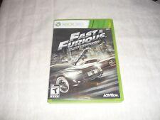 Fast & Furious: Showdown (Microsoft Xbox 360, 2013)  COMPLETE