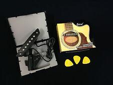 Belcat Humbucker Soundhole Acoustic Guitar Pickup w/Active Power Jack- SH-80