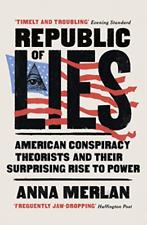 Anna Merlan-Republic Of Lies (UK IMPORT) BOOK NEW