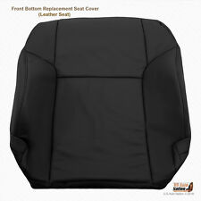 2008 Toyota 4Runner Limited Front Driver Lean Back Leather Replacement Cover BLK