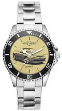 Für Saab 9-3 II Cabrio Fan Armbanduhr 4786