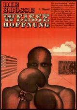 Die große weiße Hoffnung ORIGINAL A1 DDR-Kinoplakat James E. Jones / J Alexander
