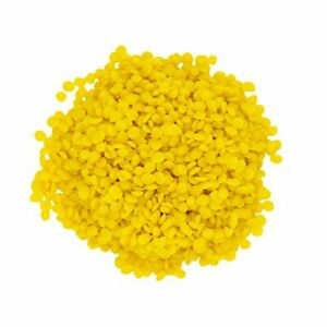 YELLOW BEESWAX BEES WAX PASTILLES PREMIUM 100% PURE ORGANIC 4 OZ TO 23 LBS