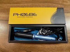 PHOEBE Mini Travel Curling Iron Hair Straightener Brush 3/4 Inch Dual Voltage