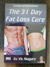 The 31 Day Fat Loss Cure by Vic Magary DVD (BRAND NEW)