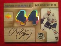 2005-06 Chris Pronger The Cup Honorable Numbers, Auto, Patch Game-Used #HN-CP