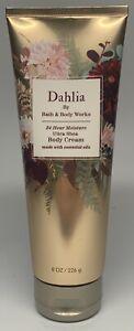 Bath & Body Works Dahlia 24 hs Moisture Ultra Shea Body Cream 8 oz