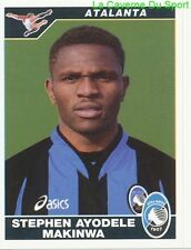 MAKINWA NIGERIA ATALANTA Beijing BG CHINA RARE UPDATE STICKER CALCIO 2005 PANINI