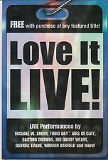 Love It Live! featuring Live Performances (2004, DVD)