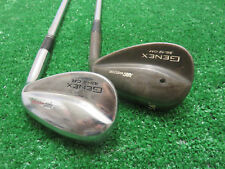 NICKENT GENEX ARC WEDGE SET 48* & 56* WEDGES PITCHIING SAND RIFLE SPINNER STEEL