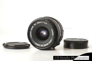 CANON FD 28mm f2.8 Lens for AE1 Program A1 F1 or adapt to Digital Fuji Sony