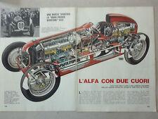 ARTICOLO ALFA BIMOTORE DEL 1935  --  1982